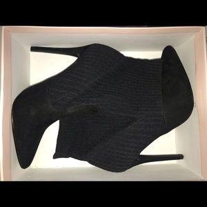 Just Fabulous Black Heel Booties